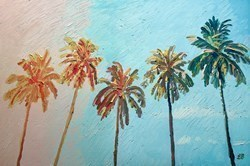 Palm Tree Memories by Leila Barton -  sized 30x20 inches. Available from Whitewall Galleries